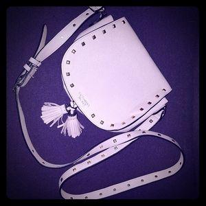 Victoria's Secret crossbody purse with tassels